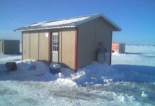 Pamper Yourself With A Custom Designed Ice Fishing House - Ice Fishing Digest