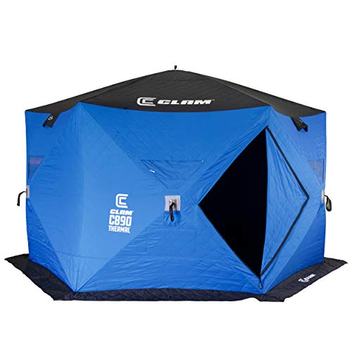 Clam 114478 C-890 Thermal - 6 Sided Hub Shelter